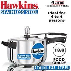 Hawkins Stainless Steel Cooker 4lt - HSS40