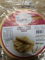 Ammaas Garlic Papad 200g