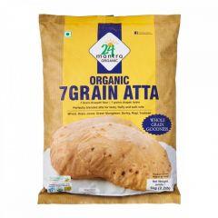 24 Mantra Organic 7Grain atta 1kg