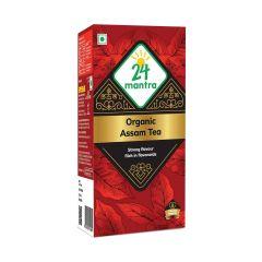24 Mantra Organic Assam Tea Bags 100g