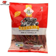24 Organic Mantra Red Chilly Whole With Stem 100g