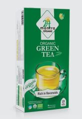 24 Organic Mantra Green Tea Bags (25Bags)