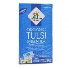 24 Mantra Organic Tulsi Green Tea Bags (25Bags)
