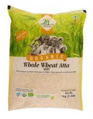 24 Mantra Organic Wholewheat Atta 1kg