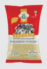 24 Mantra Organic Fenugreek Powder 100g