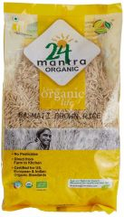 24 Organic Mantra Brown Basmati Rice 1kg