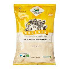 24 Mantra Organic Glutenfree Multigrain Atta 4kg