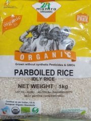 24 Organic Mantra Idly Rice (Parboiled) 1kg