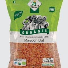 24 Organic Mantra Masoor Dal 1kg