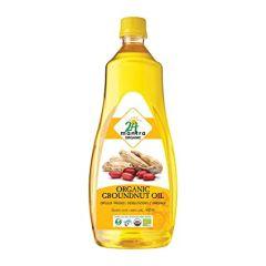 24 Mantra Organic Peanut Oil 1l