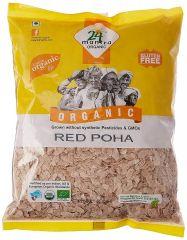 24 Organic Mantra Red Poha 500g