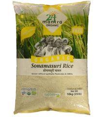 24 Organic Mantra Sonamasoori Rice 10kg