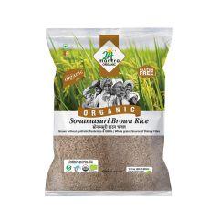 24 Mantra Organic Sonamasoori Brown Rice 1kg