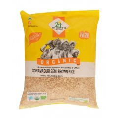 24 Mantra Organic Sona Masoori Semi Brown Rice 5kg