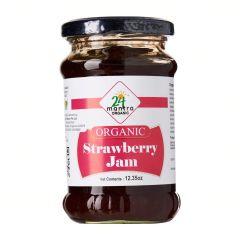24 Organic Strawberry Jam 375g
