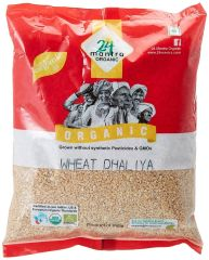 24 Mantra Organic Wheat Daliya 1kg