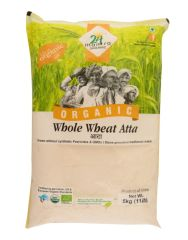 24 Organic Mantra Wholewheat Atta 5kg