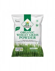 24 Mantra Organic Wheat Grass Powder 90g