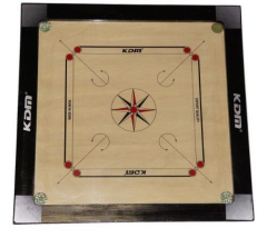 Carrom Board - KDM (36'' by 36'') - With Powder, coins and striker set
