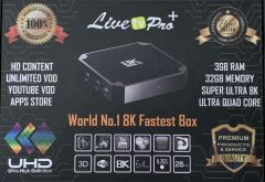 Setup Box - Live Pro plus - Box with 2 Years subscription