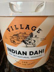 Village Indian Dahi Yoghurt pot set 2kg