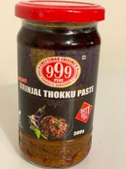 999 Plus Brinjal thokku Paste 300g (Buy 1 get 1 Free)