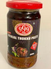 999 Plus Brinjal thokku Paste 300g (Buy 1 get 1 Free)