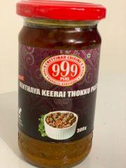 999 Venthaya Keerai Thokku Paste 300g