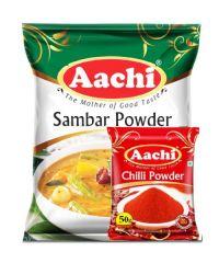 Aachi Sambar Powder 200gm (Free Aachi Chilli Powder 50g)