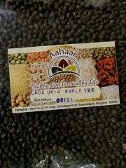 Aahaar Black Urid Dal Whole 1kg
