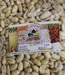 Aahaar Peanuts Blanched 1kg