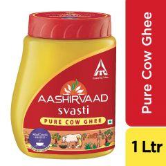 Aashirvaad Svasti(Pure Cow) Ghee 1l