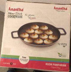 Anantha Nonstick Kuzhipaniyaram 12 Pits