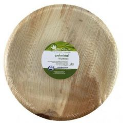 Ecofriendly Areca Leaf Plate 10inch 10pack