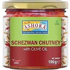 Ashoka Schezwan Chutney(Olive Oil)190g