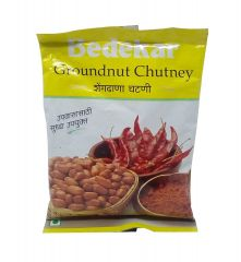Bedekar Groundnut Chutney 100g Best Before 10th June 2021