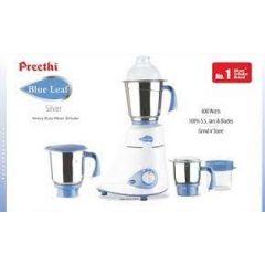 Preethi Blue Leaf Silver Mixer 600W