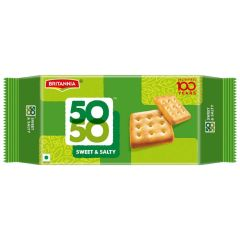 Britannia 50-50 Sweet & Salty 200g Best Before May 2021
