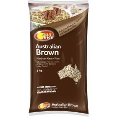 Sunrice Australian Brown Rice 5kg