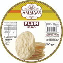 Ammaas Plain Papad 200g