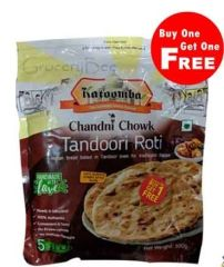 Katoomba Chandni Chowk Tandoori Roti 5PCs - Buy 1 Get 1 Free