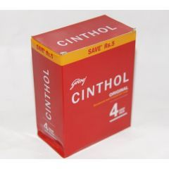 Cinthol Soap - 4pack (100gm * 4 pieces)
