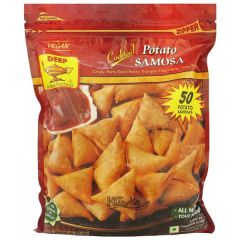 Deep Cocktail Potato Samosa 50 pcs