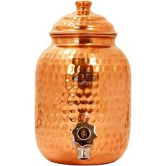 Copper Water Tank With Tap 4L