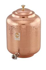 Copper Water Tank With Tap 6.5L