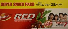 Dabur Red Toothpaste - Super Saver Pack - 300g