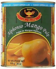 Deep Alphonso Mango Pulp 850gm