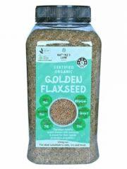 Organic Flax Seeds 1.5kg
