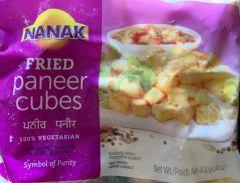 Nanak fried paneer cubes 400g
