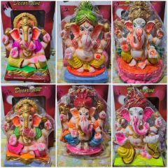 """Ganesh idol 8"""" - Eco Friendly"""